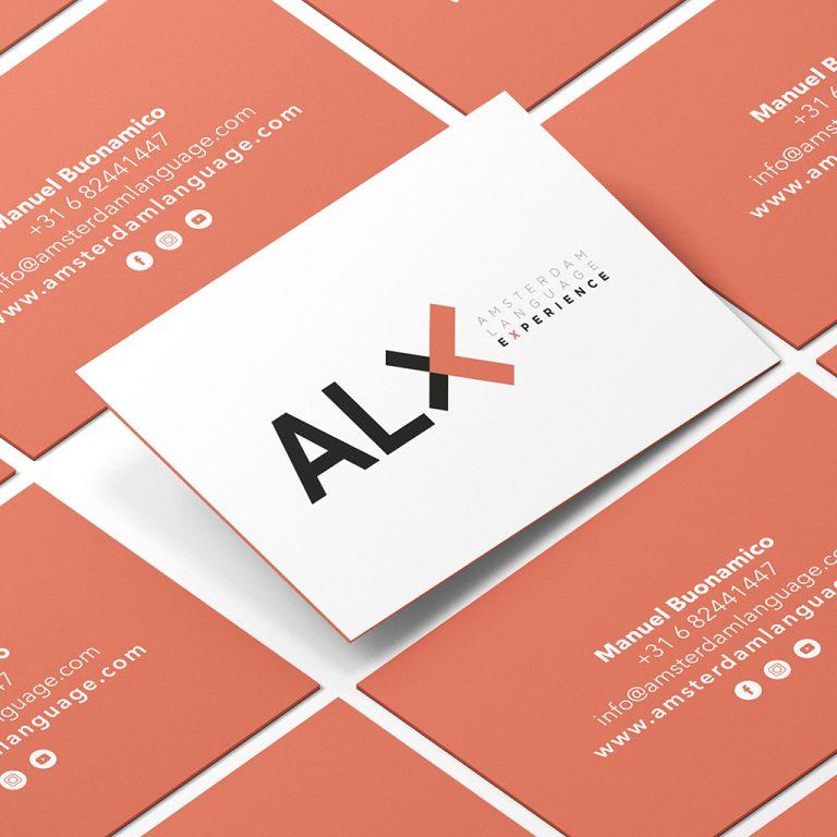 ALX_Bussines_card. Graphic design, Interior design, Web design. Integral design