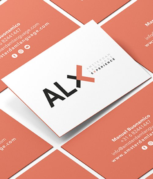 ALX_Bussines_card. Graphic design, Interior design, Web design. Integral design