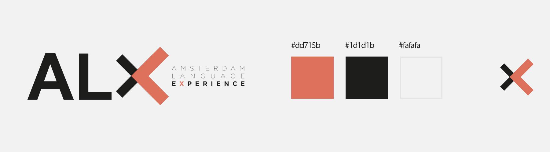 ALX_brand. Graphic, Interior & Web design. Integral design. www.threedotsconnected.com