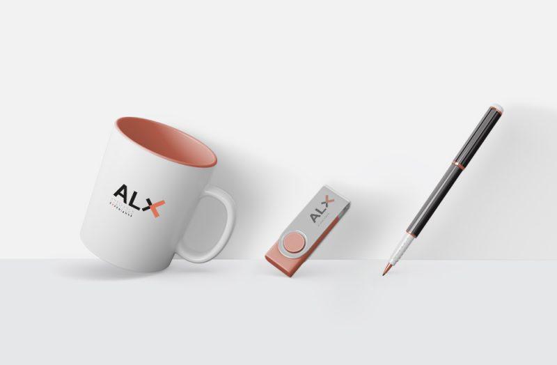 ALX_cup. Graphic, Interior & Web design. Integral design. www.threedotsconnected.com