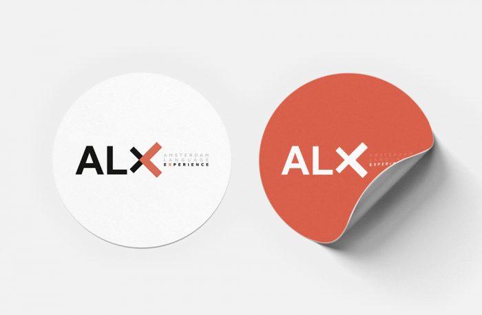 ALX_sticker. Graphic, Interior & Web design. Integral design. www.threedotsconnected.com