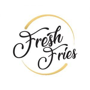 Logo Fries. Graphic design, Interior design, Web design. Integral design