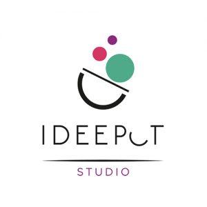 Ideepot Logo. Graphic design, Interior design, Web design. Integral design